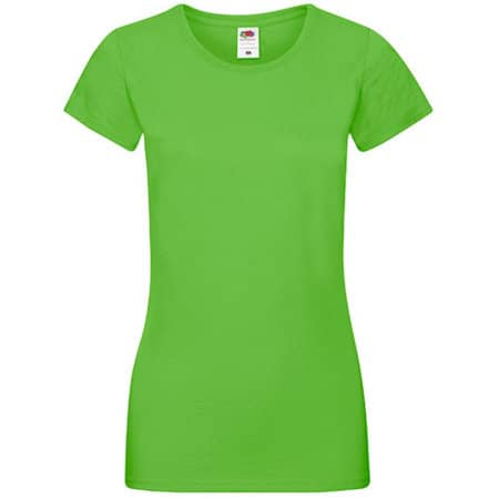 Sofspun® T Lady-Fit in Lime von Fruit of the Loom (Artnum: F151