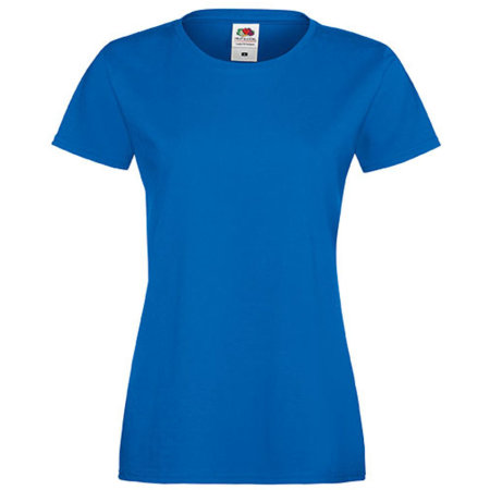 Sofspun® T Lady-Fit in Royal Blue von Fruit of the Loom (Artnum: F151