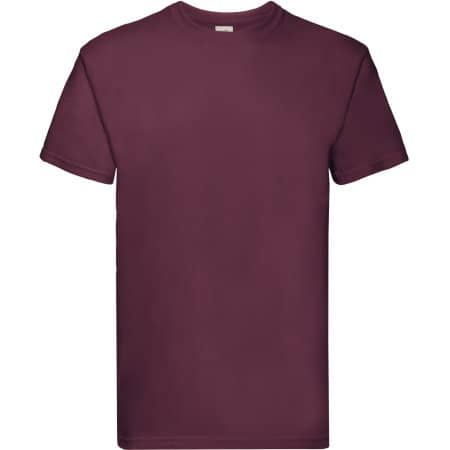 Super Premium T in Burgundy von Fruit of the Loom (Artnum: F181