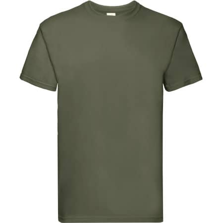 Super Premium T in Classic Olive von Fruit of the Loom (Artnum: F181