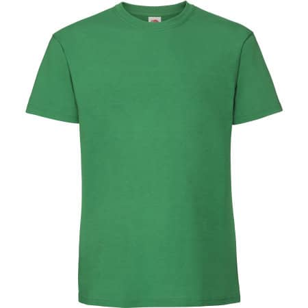 Ringspun Premium T in Kelly Green von Fruit of the Loom (Artnum: F185