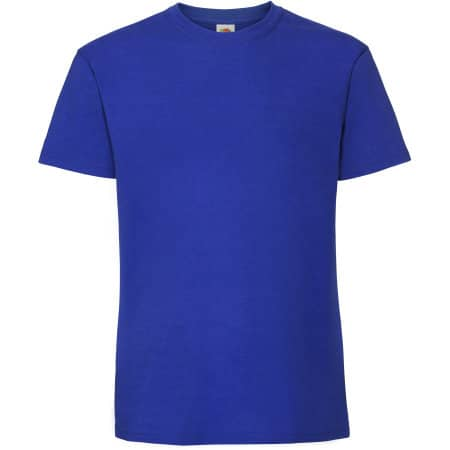 Ringspun Premium T in Royal Blue von Fruit of the Loom (Artnum: F185