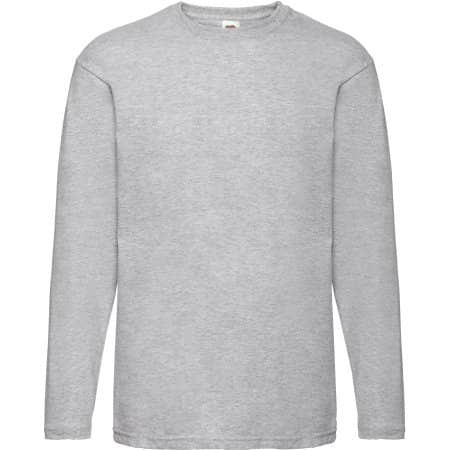 Valueweight Long Sleeve T von Fruit of the Loom (Artnum: F240
