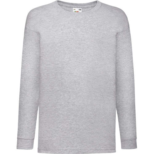 Fruit of the Loom - Long Sleeve Valueweight T Kids