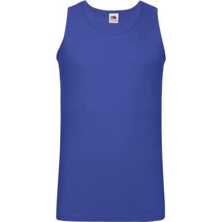 Athletic Vest in Royal Blue von Fruit of the Loom (Artnum: F260
