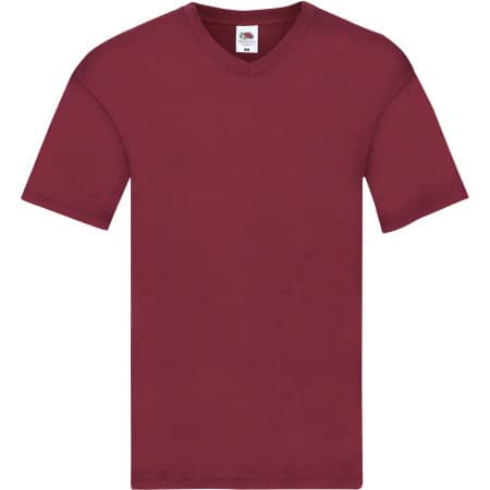 Original V-Neck T von Fruit of the Loom (Artnum: F272