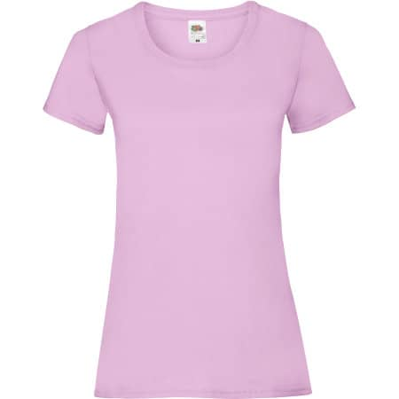 Valueweight T Lady-Fit in Light Pink von Fruit of the Loom (Artnum: F288N