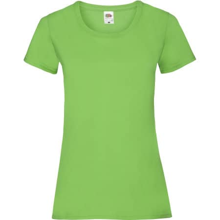 Valueweight T Lady-Fit in Lime von Fruit of the Loom (Artnum: F288N