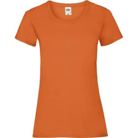 Valueweight T Lady-Fit in Orange von Fruit of the Loom (Artnum: F288N