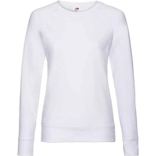Fruit of the Loom - Lightweight Raglan Sweat Lady-Fit