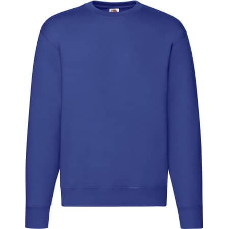 Premium Set-In-Sweat in Royal Blue von Fruit of the Loom (Artnum: F324N