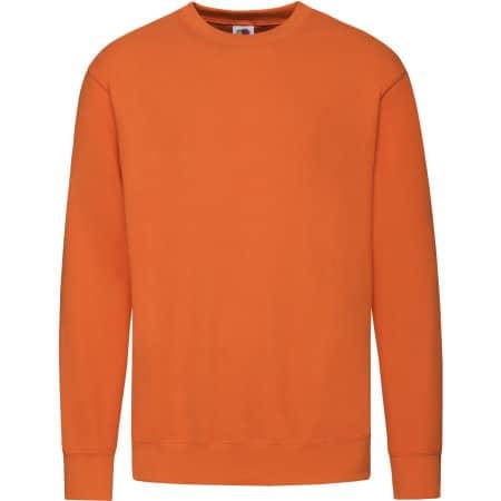 New Lightweight Set-In Sweat in Orange von Fruit of the Loom (Artnum: F330