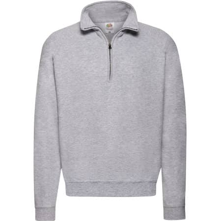 Classic Zip Neck Sweat von Fruit of the Loom (Artnum: F382N