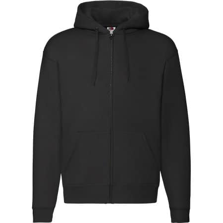 Premium Hooded Sweat-Jacket von Fruit of the Loom (Artnum: F401