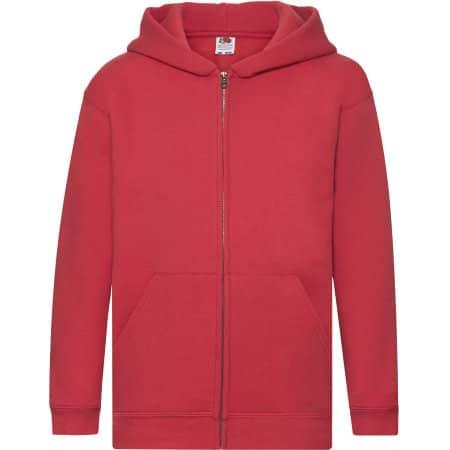 Premium Hooded Sweat Jacket Kids von Fruit of the Loom (Artnum: F401K