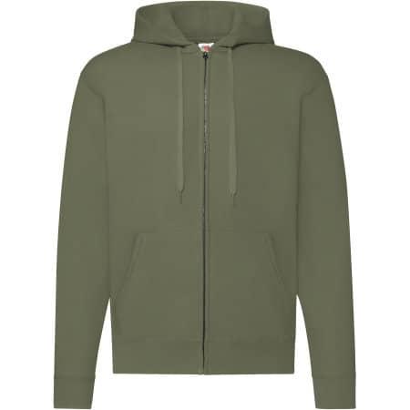 Classic Hooded Sweat Jacket von Fruit of the Loom (Artnum: F401N