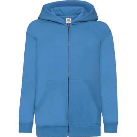 Classic Hooded Sweat Jacket Kids von Fruit of the Loom (Artnum: F401NK