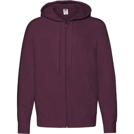 Lightweight Hooded Sweat Jacket von Fruit of the Loom (Artnum: F407