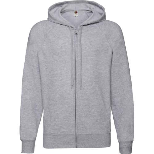 Fruit of the Loom - Lightweight Hooded Sweat Jacket