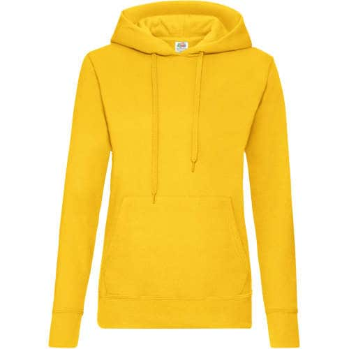 Fruit of the Loom - Classic Hooded Sweat Lady-Fit