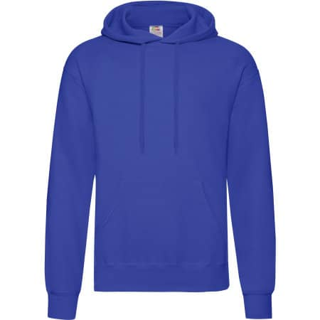 Classic Hooded Sweat in Royal Blue von Fruit of the Loom (Artnum: F421