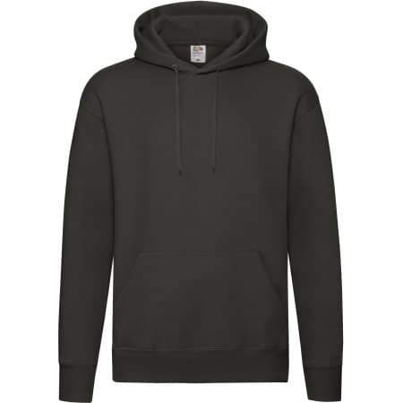 Premium Hooded Sweat in Charcoal (Solid) von Fruit of the Loom (Artnum: F421N