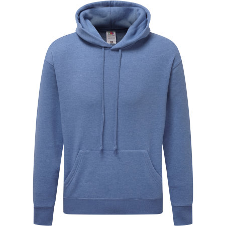 Premium Hooded Sweat in Heather Royal von Fruit of the Loom (Artnum: F421N