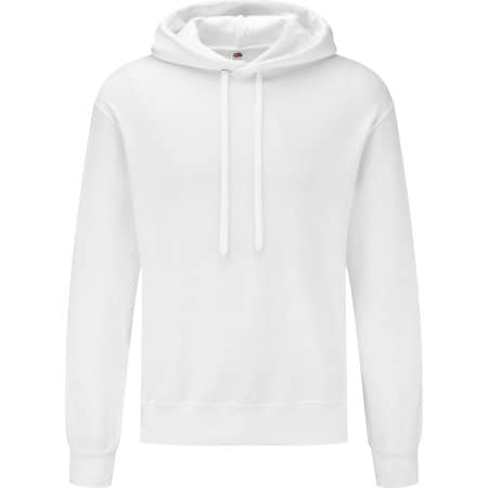 Classic Hooded Basic Sweat in White von Fruit of the Loom (Artnum: F425