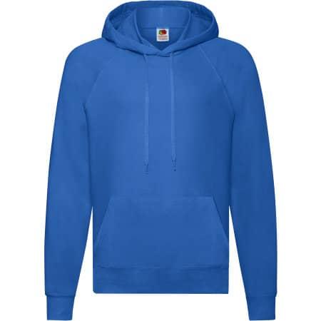 Lightweight Hooded Sweat in Royal Blue von Fruit of the Loom (Artnum: F430