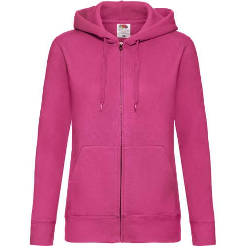 Fruit of the Loom - Premium Hooded Sweat Jacket Lady-Fit
