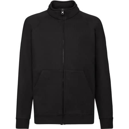 Classic Sweat Jacket Kids in Black von Fruit of the Loom (Artnum: F457NK