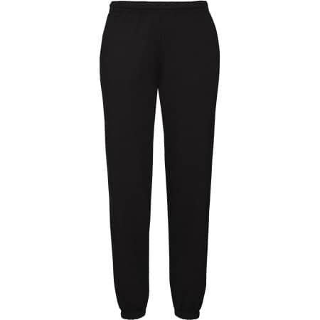 Classic Jog Pants in Black von Fruit of the Loom (Artnum: F480