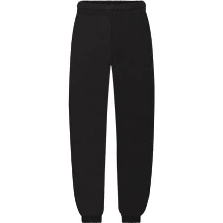 Classic Elasticated Cuff Jog Pants Kids in Black von Fruit of the Loom (Artnum: F480NK