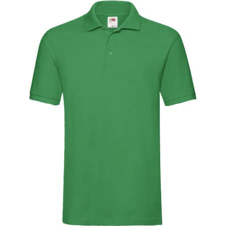 Premium Polo in Kelly Green von Fruit of the Loom (Artnum: F511N