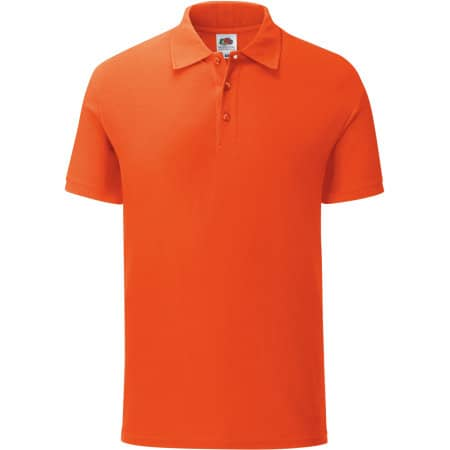 Iconic Polo in Flame von Fruit of the Loom (Artnum: F512