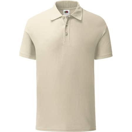 Iconic Polo in Natural von Fruit of the Loom (Artnum: F512
