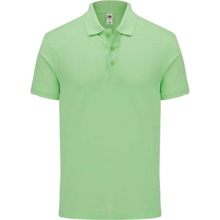 Iconic Polo in Neo Mint von Fruit of the Loom (Artnum: F512