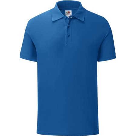 Iconic Polo in Royal Blue von Fruit of the Loom (Artnum: F512