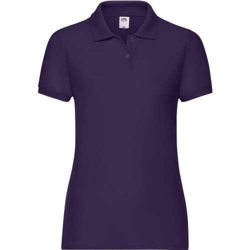 Fruit of the Loom - 65/35 Polo Lady-Fit