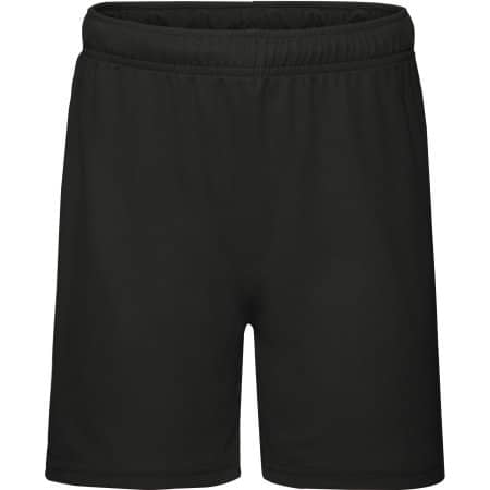 Performance Shorts Kids in Black von Fruit of the Loom (Artnum: F554K