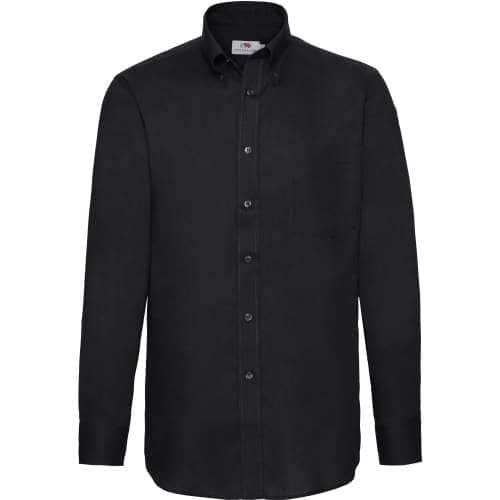 Fruit of the Loom - Men`s Long Sleeve Oxford Shirt