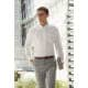 Thumbnail Hemden und Blusen: Men`s Long Sleeve Oxford Shirt F600 von Fruit of the Loom