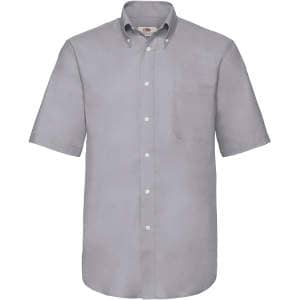 Men`s Short Sleeve Oxford Shirt