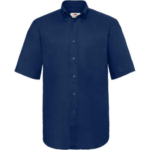 Fruit of the Loom - Men`s Short Sleeve Oxford Shirt