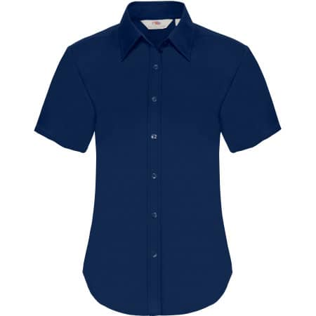 Short Sleeve Oxford Shirt Lady-Fit von Fruit of the Loom (Artnum: F701