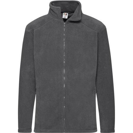 Fleece Jacket in Smoke (Solid) von Fruit of the Loom (Artnum: F800