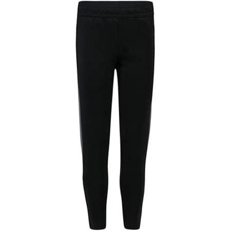 Adults Knitted Tracksuit Pants in Black|Gunmetal Grey von Finden+Hales (Artnum: FH881