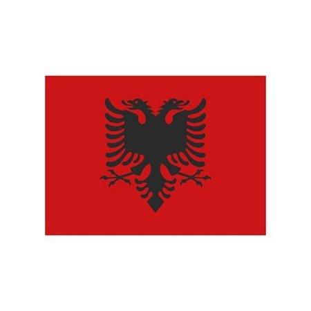 Fahne Albanien von Fahnen (Artnum: FLAGAL