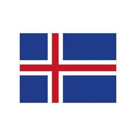 Fahne Island von Fahnen (Artnum: FLAGIS