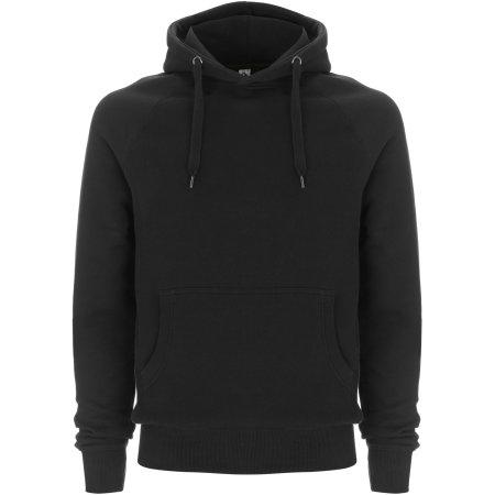 Fairshare Fairtrade Organic Unisex Pullover Hood in Black von Continental Clothing (Artnum: FS60P